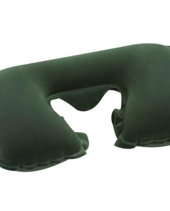 Putni jastuk za napuhavanje, jastuk za vrat. Jastuk za napuhavanje Travel. Jastuk za napuhavanje sa naslonom za vrat i jednom mekanom stranom za više udobnosti. Veličina jastuka je 37x24x10cm.