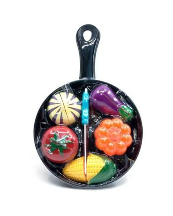 Kuhinja tava, Set tava sa hranom za rezanje, ova jednostavna igračka pružiti će sate zabave vašem mališanu.