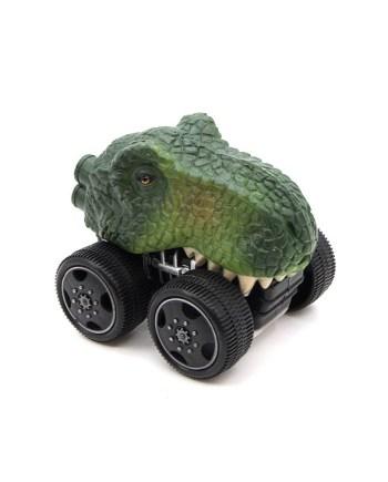 Auto Dinosaur, model autića u obliku glave dinosura na frikciju, za svako dijete koje voli aute i dinosaure.