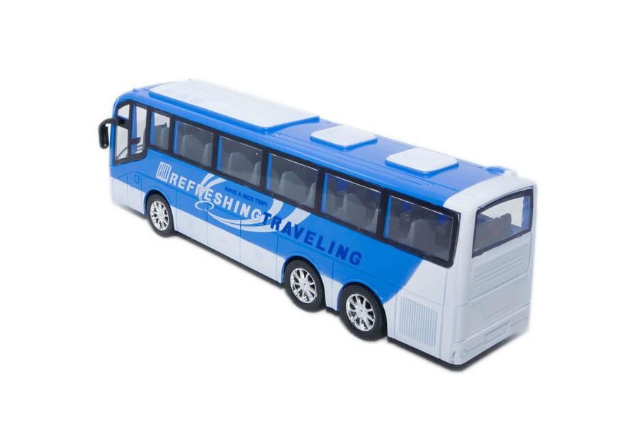 autobus vozila city bus plavi zadnja
