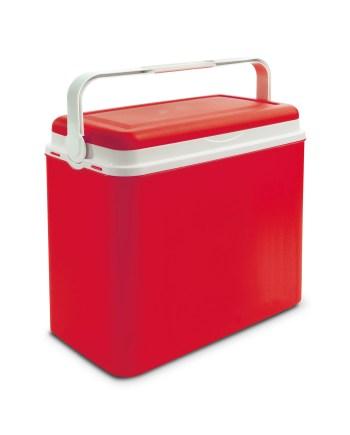 Plastični frižider za plažu i more - crvene boje