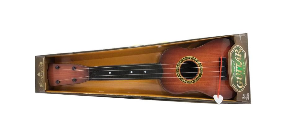 Gitara Plastična Classic 57cm. Plastična gitara izgleda klasične gitare sa trzalicom.