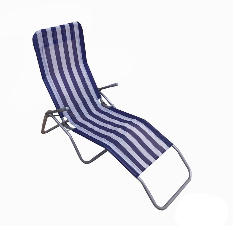 """Ležaljka za plažu, bazen ili vrt, Preklopna ležaljka. Čvrsta, metalna ležaljka u dva dizajna. Idealna ležaljka za """"chillanje"""" tj. za odmaranje u hladu za vrije vrućih ljetnih dana."""
