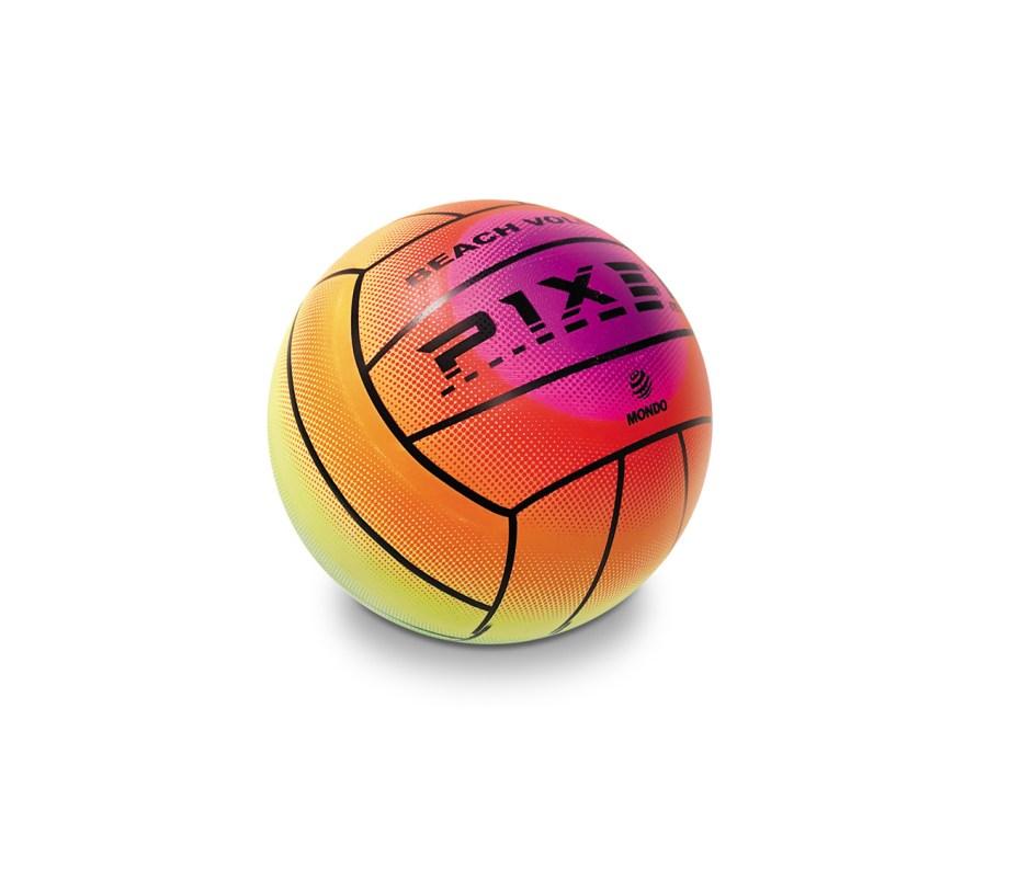 Lopta Pvc Mini Pixel d14cm, Lopta Mondo dijametra je 14 centimetara. Odlična je za igranje na plaži, u stanu ili kao lopta koju ćete uzeti na put.