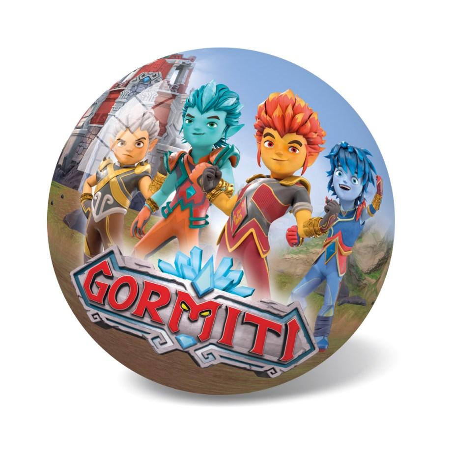 Lopta Pvc Gormiti d23cm, Plastična lopta Gormiti veličine 23 cm savršena je za sve uzraste, prilagođena za igru na svim površinama i u svim uvjetima.