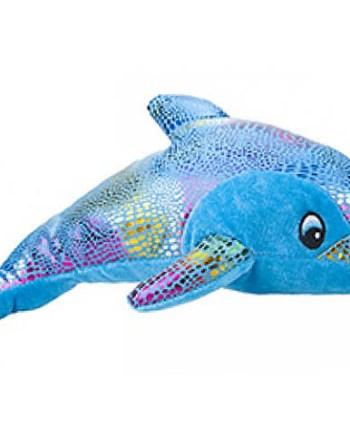 Plišani Delfin Shiny 30cm. Mekani delfin sa jednom plišanom stranom a drugom s odsjajem.