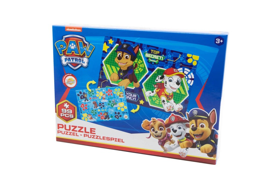 puzzle paw patrol nickelodeon 96pcs