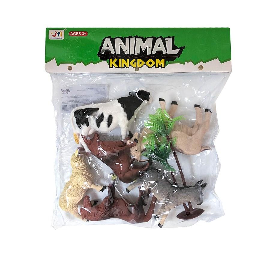 Domaće životinje u vrećici, 2 modela.