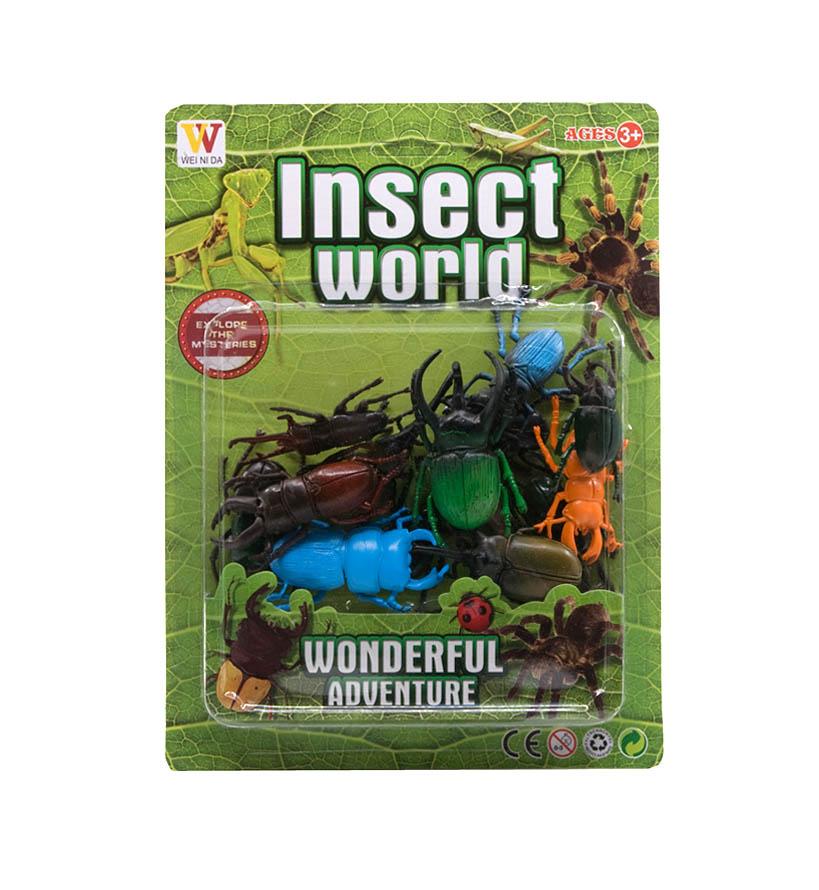 Životinjske figurice, Pauci/Insekti, sa ovim zabavnim ali i edukativnim setovima dijete će se upoznati sa čarobnim svijetom insekata.