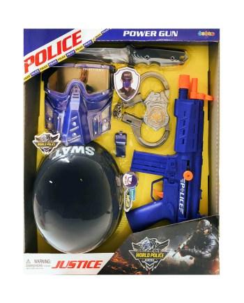 policijski-set-igracka-kaciga-mitraljez-maska-lisice-noz-zvizdaljka-znacka