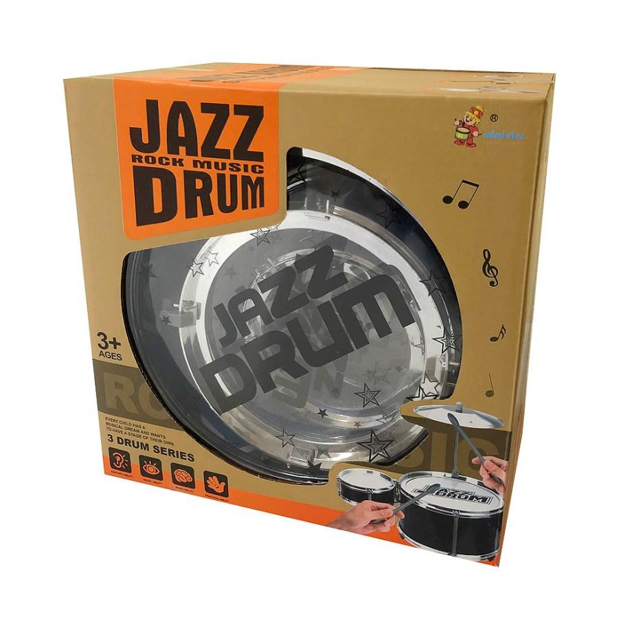 Bubanj dječji, muzički instrument za djecu Jazz Rock Music Drum. Dječji bubanj veličine 59x25x58 centimetara.