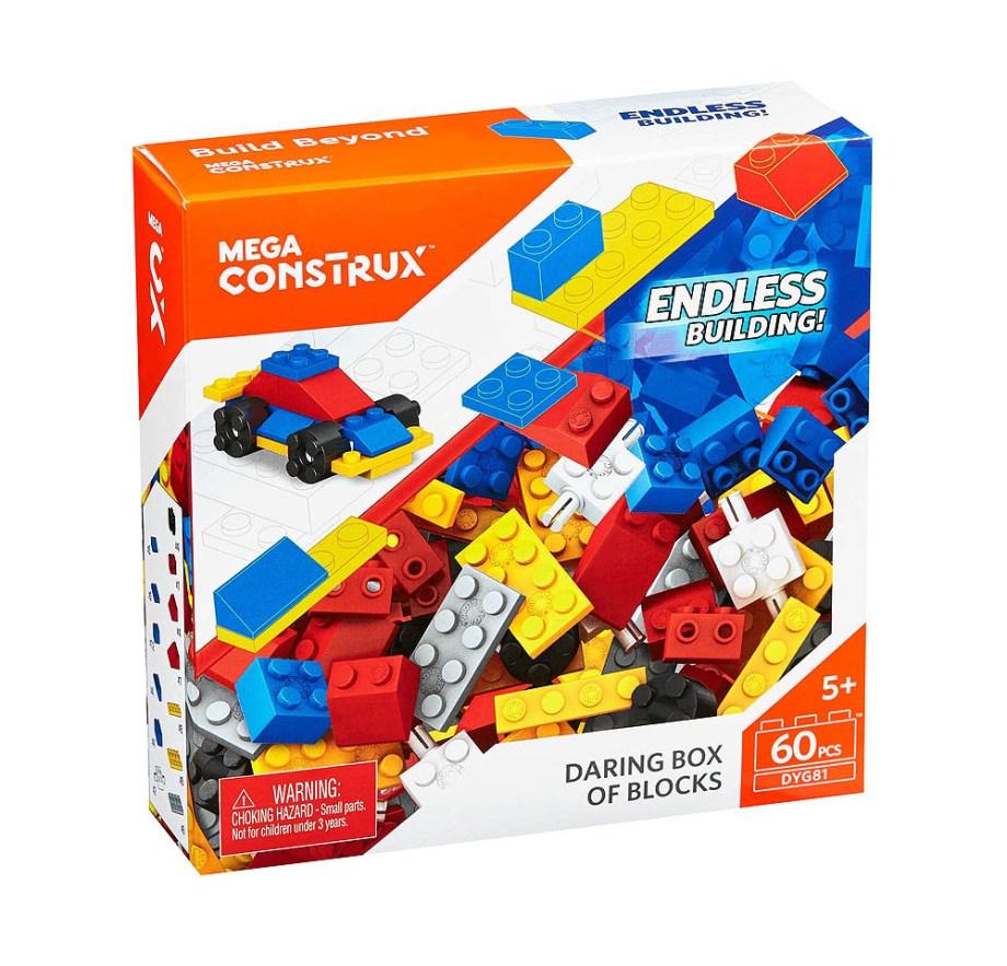 Kocke Mega Construx 60 komada. Praktično pakiranje od 60 kockica. Kockice poznatog proizvođača Mega Construx.