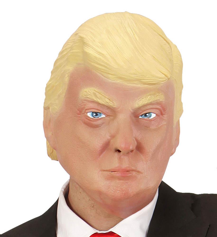 Karnevalska maska Predsjednik, maska za cijelu glavu je maska namijenjena odraslima. Savršena je za maskiranje, lude partije, proslave Halloweena ili karnevalske povorke.