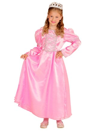 Kostim za djecu Princeza Roza, veličina za dob 2-3 godine. Savršen je za igru, lude partije ili karnevalske povorke. U pakiranju se nalazi haljina i kruna.