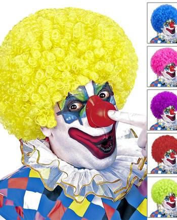 Perika za karneval Clown - Klaun dolazi u 5 različitih boja. Namijenjena je za odrasle osobe. Savršena je za maskiranje, lude partije, proslave Halloweena ili karnevalske povorke.