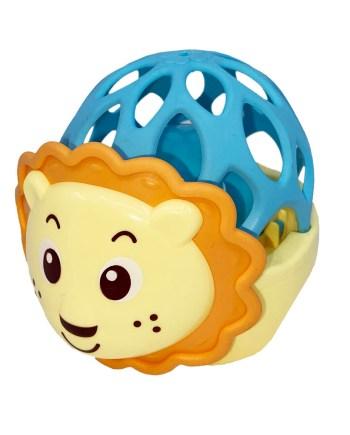 Zvečka u obliku Slonića ili Lavića, Zvečka za bebe. Ova vesela zvečka za bebe dolazi u 2 varijante, zvečka na slonića i na lavića.
