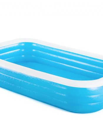 Obiteljski bazen Blue Rectangular 305 x 183 x 56 cm. Veliki plavi pravokutni obiteljski bazen visoke je kvalitete, namijenjen obiteljskoj zabavi.