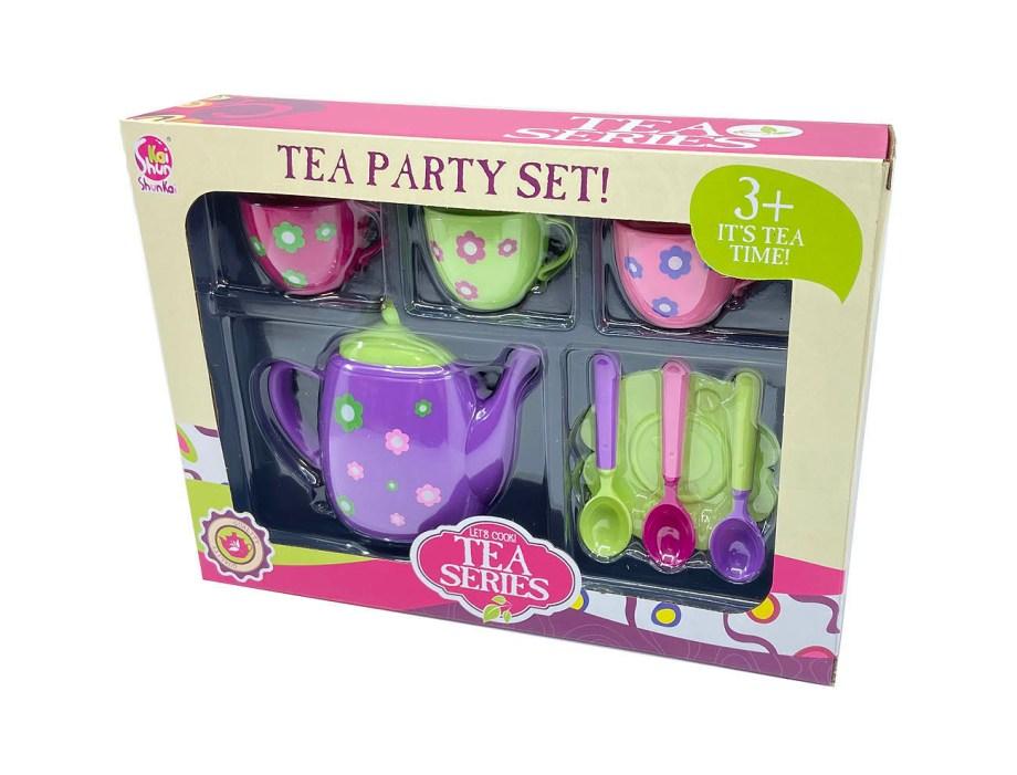 Kuhinjski set za Čajanku, Set sa čajnikom i šalicama. Prekrasni set za čajanku sa pregršt dodataka. Proizvod je napravljen od plastike, dolazi u 3 različita modela.