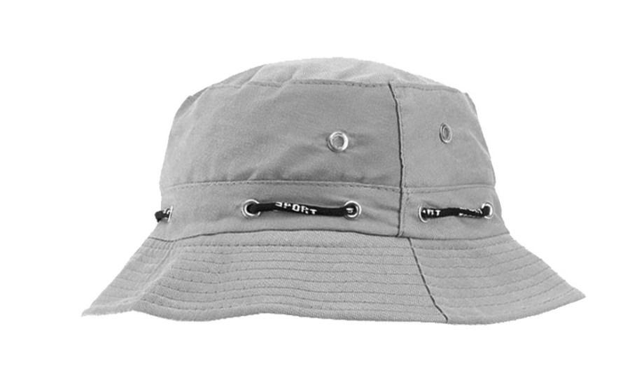 Ribički šešir pamučni, Ribička kapa sa trakicom za veličinu