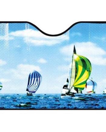 Zaštita za vjetrobransko staklo, Sjenilo za auto. Ovo sjenilo pruža zaštitu od sunca za vrijeme vrućih, ljetnih dana.