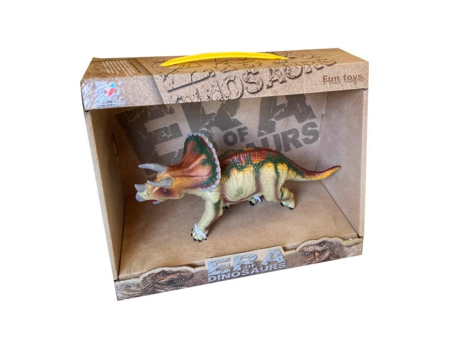 Dinosaur model u kutiji, 20 centimetra. Veliki gumeni dinosauri realističnog izgleda. Skupi ih sve i igraj se s ovim opasnim životinjama.