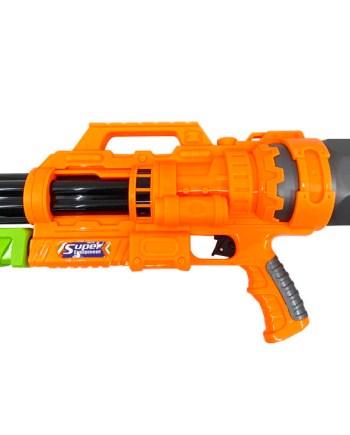 Puška za špricanje na vodu 60 centimetara. Vodena puška savršen je dodatak vrućim, ljetnim danima. Napunite pušku vodom i zabava može započeti.