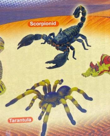 Životinjske puzzle slagalica u kutijici, 4 modela. U kutijici veličine 6x6 cm nalazi se jedan od 4 modela pustinjskih životinja.