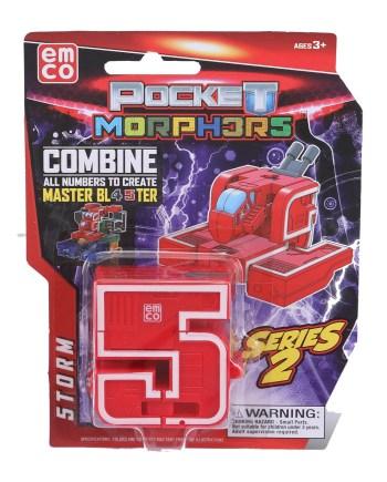 ROBOT Pocket Morphers Series 2, Robot Brojevi 0-9. Zabavite se i pretvorite brojeve u vozila i obrnuto!