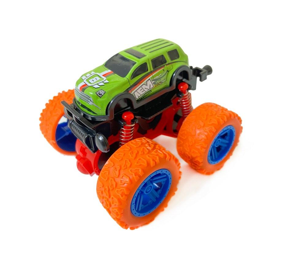 Auto monster car metalni autić na frikciju. Ovaj auto monster sa velikim gumama, uzdignutom karoserijom i dijelovima od metala razveseliti će svako dijete