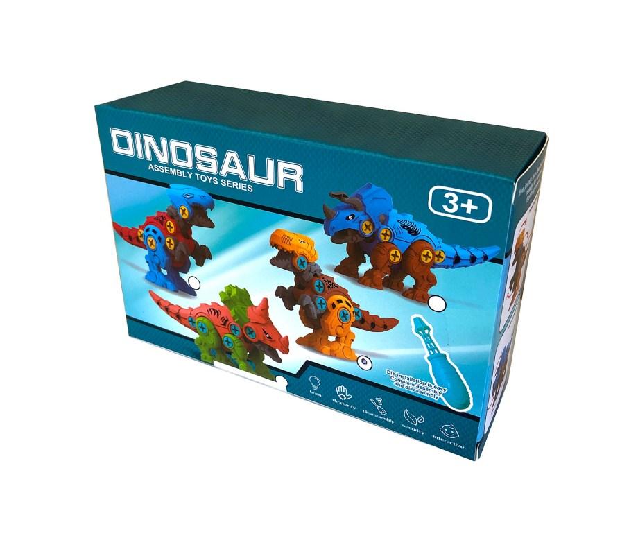 Dinosaur za sastavljanje sa alatom, DIY Dinosauri. Ova kvalitetna i zanimljiva igračka namijenjena je malim majstorima.