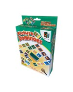Igra domino, 28 kartica na životinje. Klasična igra domina za cijelu obitelj sa 28 kartonskih pločica. Igra domino namijenjena je za 2 do 4 igrača.
