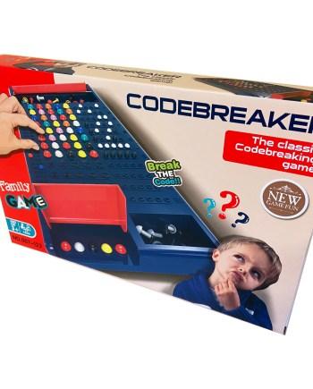 Igra otkrivanja koda, Društvena igra Codebreaker. U ovoj napetoj društvenoj igri otkrivanja kodova pobjedite svog protivnika i dešifrirajte kod.