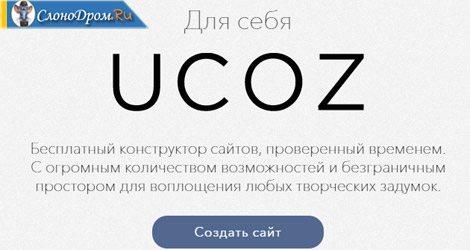 Юкоз - создание сайта и продвижение партнерских ссылок.