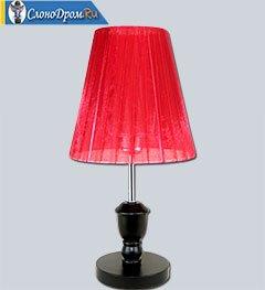 Фен-шуй - красный абажур для привлечения богатства