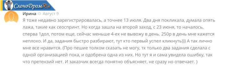 Отзыв - сколько можно заработать на Яндекс Толока