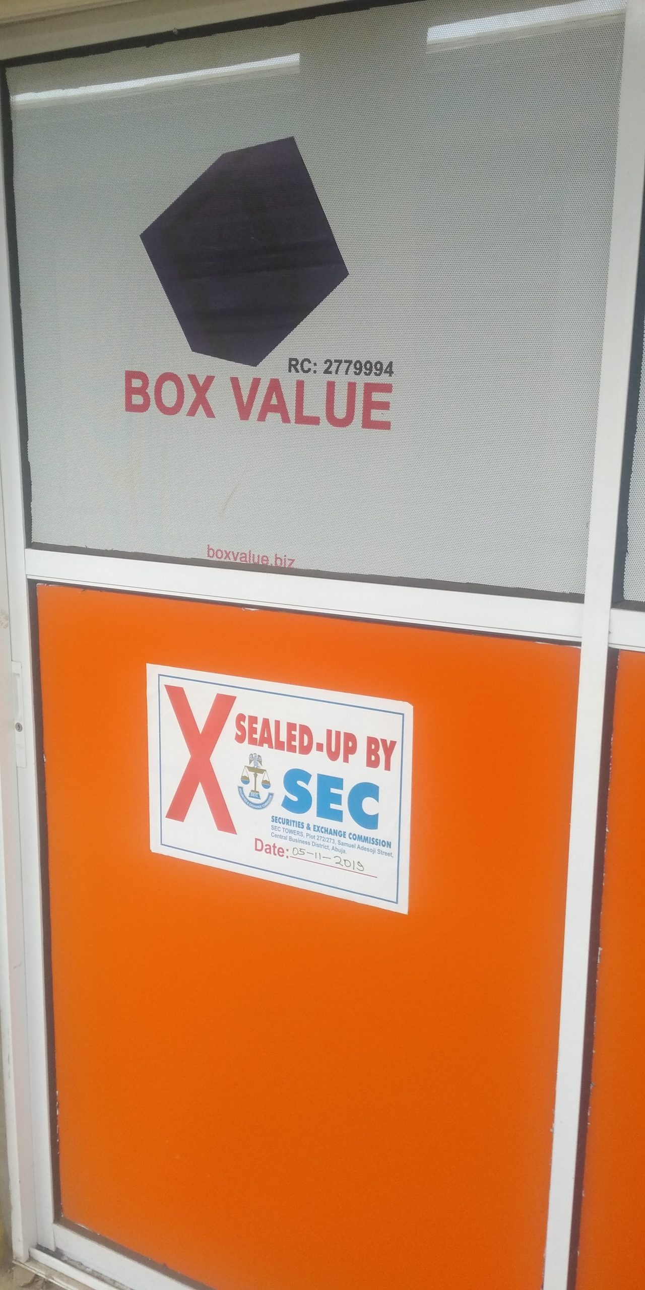 box value