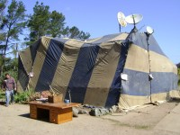 Cost To Tent For Termites & A Row Of Fumigated Businesses
