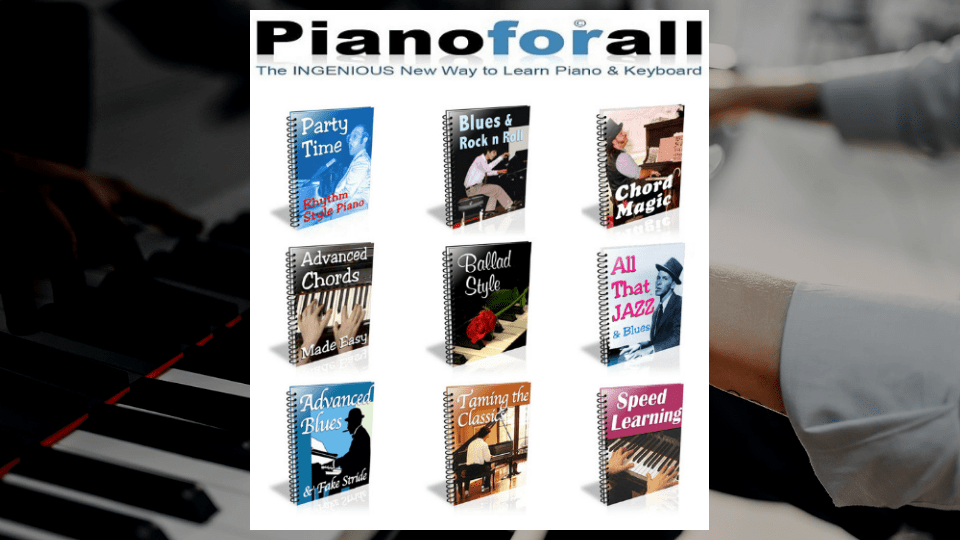 PianoForAll by Robin Hall