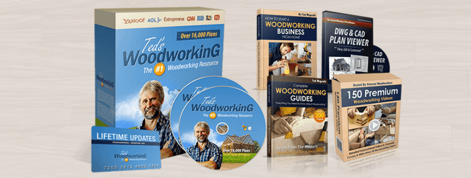 Download 16000 Teds Woodworking Plans