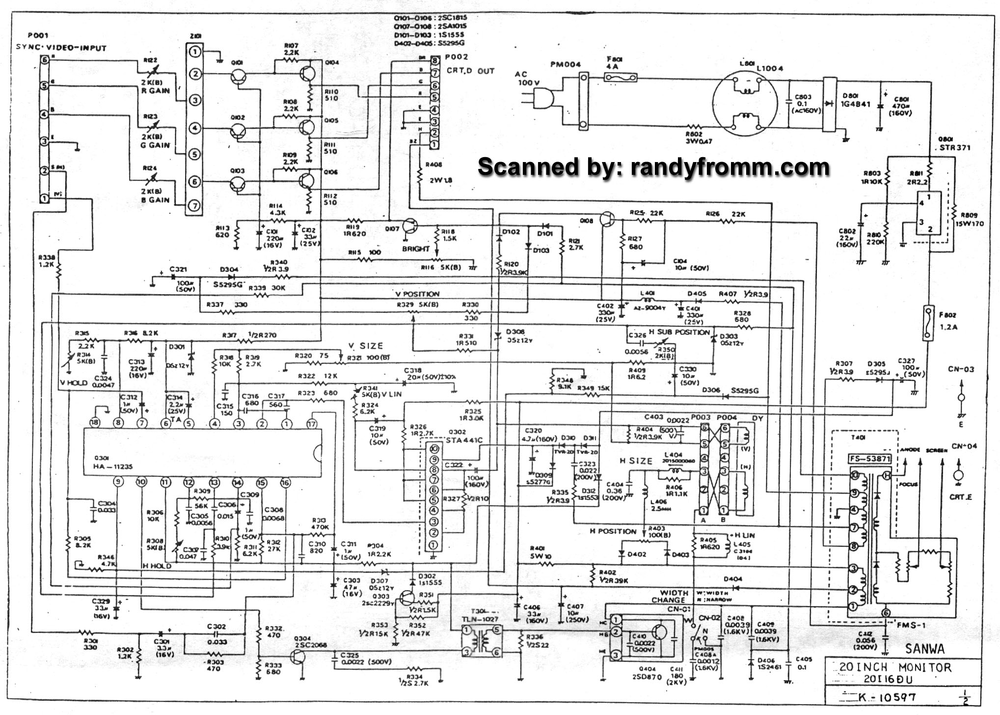 randyfromm.com Technical Department
