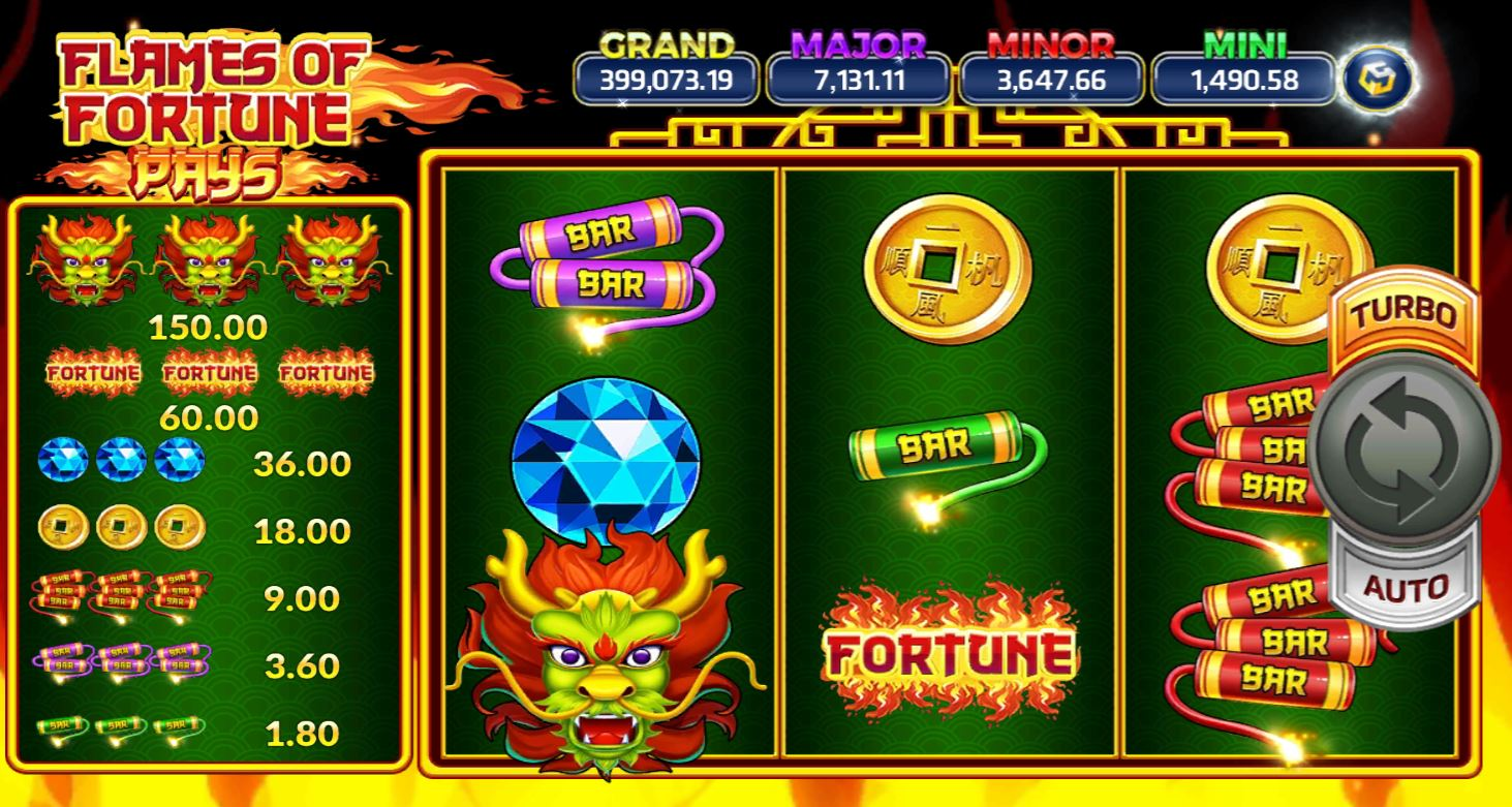 Slotxo-Flames of Fortune-เกม