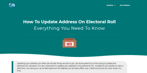 Update your address with the electoral roll