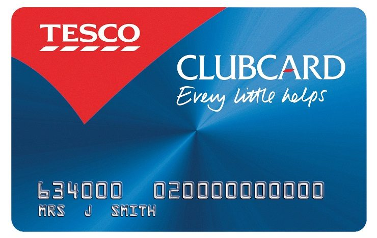 Tesco Clubcard change address