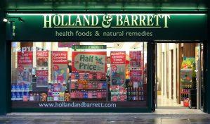 Holland & Barrett Card Change of Address