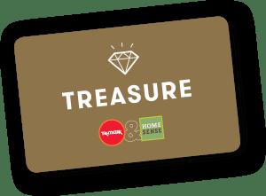 tk max treasure card change of address