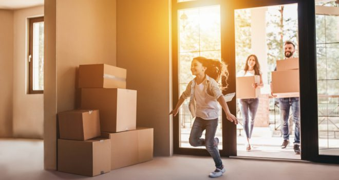 average cost of moving home