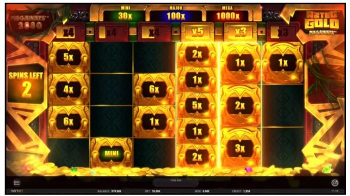 Aztec Gold Megaways by iSoftBet Gameplay