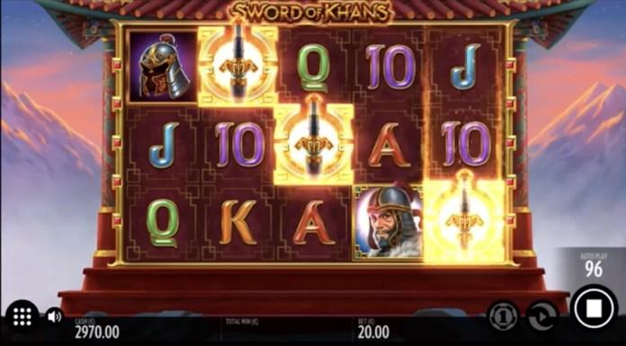 Sword Of Khans by Thunderkick Gameplay