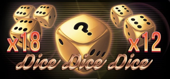Dice Dice Dice by Red Tiger Logo