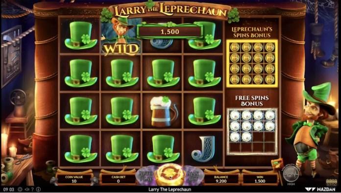 Larry The Leprechaun by Wazdan Gameplay